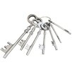 EC World Imports 7 Piece Reproduction Aluminum Jailer Key Set