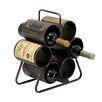 EC World Imports Urban 6 Bottle Tabletop Wine Rack