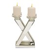EC World Imports Urban Designs Glass Candle Holder