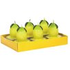 Fantastic Craft Lemon Tea Light Box Novelty Candle Set (Set of 6)
