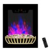Golden Vantage 5200 BTU Wall Mount Electric Fireplace Heater