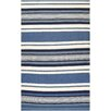 Couristan Grand Cayman Catamaran Ocean Blue/Ivory Indoor/Outdoor Area Rug