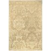Couristan Impressions Gold/Light Brown Antique Damask Floral Area Rug