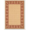 Couristan Recife Tropics Natural/Terracotta Indoor/Outdoor Novelty Rug