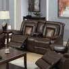 Beverly Fine Furniture Topeka Reclining Loveseat