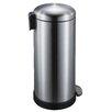 JoyWare 30 Liter Round Retro Look Trash Can