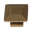 GlideRite Hardware Square Knob (Set of 10)