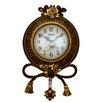 Three Star Im/Ex Inc. Pendulum Wall Clock