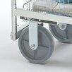 Charnstrom Premium Grey Heavy Duty Stationary Plate Caster