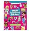 T.S.Shure Fashion Super Stickers Book