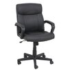 Global Furniture High-Back Leather Conference Chair with Arms