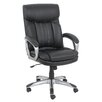 Global Furniture Mid-Back Leather Executive Chair with Arms
