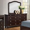 Glory Furniture 8 Drawer Dresser with Mirror