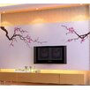 Pop Decors Beautiful Plum Blossom 2 Wall Decal