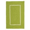 Colonial Mills Doodle Edge Bright Green Border in Border Indoor/Outdoor Area Rug
