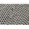 Colonial Mills Outdoor Houndstooth Tweed Black Sample Swatch