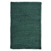 Colonial Mills Solid Chenille Dark Green Area Rug