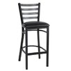 """JUSTCHAIR 30"""" Bar Stool with Cushion"""
