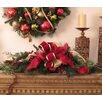 Floral Home Decor Pine and Berry Christmas Centerpiece
