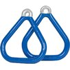 Swing Set Stuff Commercial Coated Triangle Trapeze Rings (Set of 2)