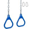 Swing Set Stuff Trapeze Rings with Chains (Set of 2)