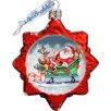 G Debrekht Keepsake Glass Ornament