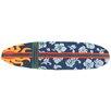 Homefires Surfboard Navy Area Rug