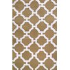 Trans-Ocean Rug Assisi Khaki Tile Indoor/Outdoor Area Rug