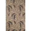 Trans-Ocean Rug Ravella Neutral Leaf Outdoor Rug