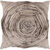 Surya Budding Flower Cotton Throw Pillow