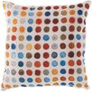Surya Rain Surrounded by Circles Outdoor Throw Pillow
