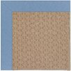 Capel Rugs Zoe Grassy Mountain Machine Tufted Blue/Brown Area Rug
