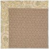 Capel Rugs Zoe Grassy Mountain Machine Tufted Quarry Area Rug