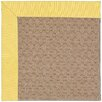 Capel Rugs Zoe Grassy Mountain Machine Tufted Yellow/Brown Area Rug