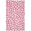 Capel Rugs Heavenly Pink/White Area Rug