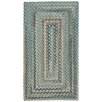 Capel Rugs Blewett Falls Concentric Braided Smoke Area Rug
