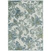 Capel Rugs Highlands Hand Tufted Cream Blue Area Rug