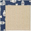 Capel Rugs Zoe Beach Sisal Machine Tufted Pitch/Beige Area Rug