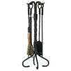 Uniflame Corporation 5 Piece Olde World Iron Fireplace Tool Set