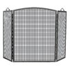 Uniflame Corporation 3 Panel Olde World Iron Arch Top Fireplace Screen