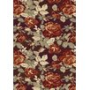Dynamic Rugs Opus Red Floral Area Rug