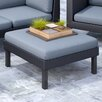 dCOR design Oakland Patio Ottoman with Cushion