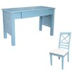 dCOR design Palmetto Beach Writing Desk with Chair