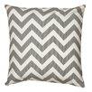 Mercury Row Chevron Cotton Throw Pillow