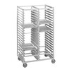 Channel Manufacturing Double Section Cafeteria Tray Racks