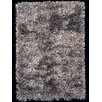 Foreign Accents Elementz Fettuccine Silver Area Rug