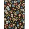 Mayberry Rug Lifestyles Chocolate Daisy Field Area Rug