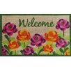 A1 Home Collections LLC Roses Doormat