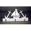 Judith Edwards Designs Anchor/Sailboat Wall Hook