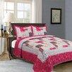 Home Fashion Design Jacqueline 3 Piece Quilt Set